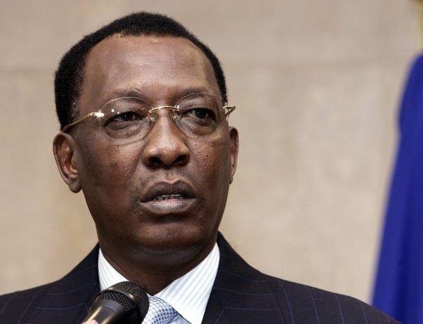 275995 portrait du president tchadien idriss deby itno pris le 24 novembre 2005 a bruxelles