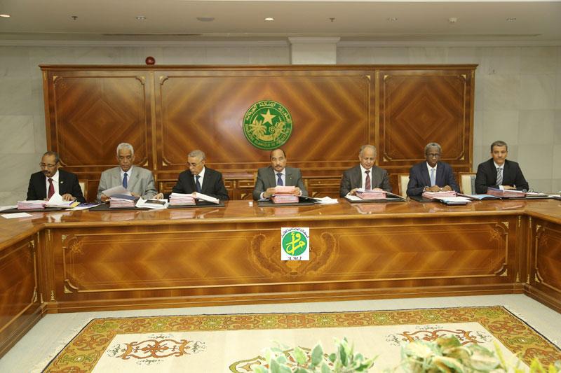 Conseil de ministres Mauritanie