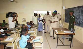 Ecole d'enfants de troupe source news.niamey
