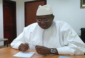 . Ministre Cheickna Seydi Ahamadi DIAWARA (MCIIA)