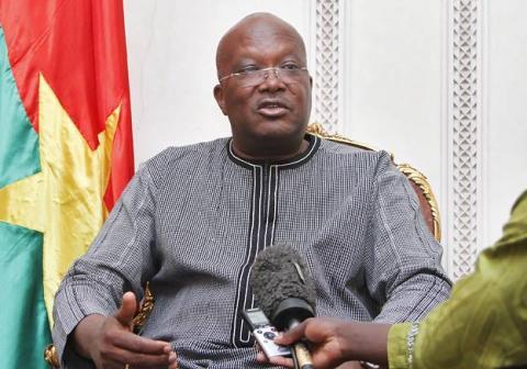 Président du Burkina
