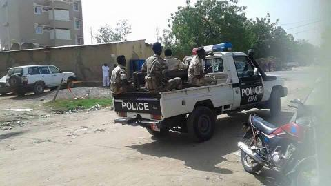 police du Tchad
