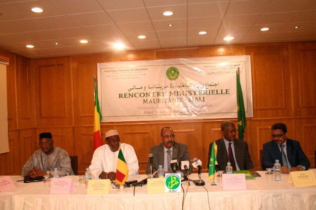 rencontre ministèrielle Mali Mauritanie