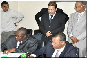 signature de laccord Tchad Mauritanie