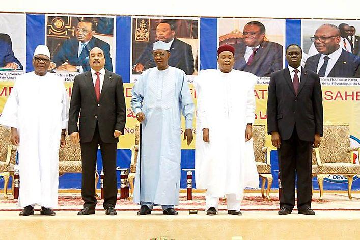 travaux du 2e sommet du g5 sahel à N'Djamena au Tchad