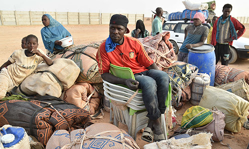Migrants au Niger