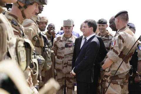 Valls au Mali