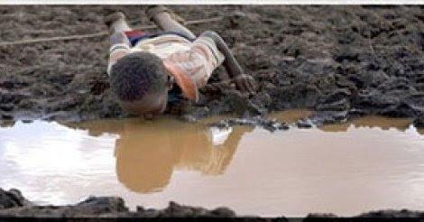 photo dillustration secheresse en Afrique