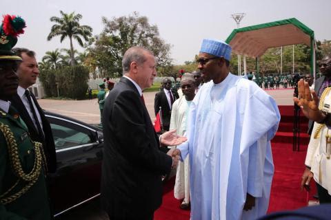 Erdogan au Nigeria