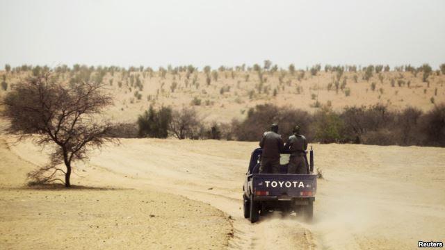 Patrouille de la gendarmerie mauritanienne