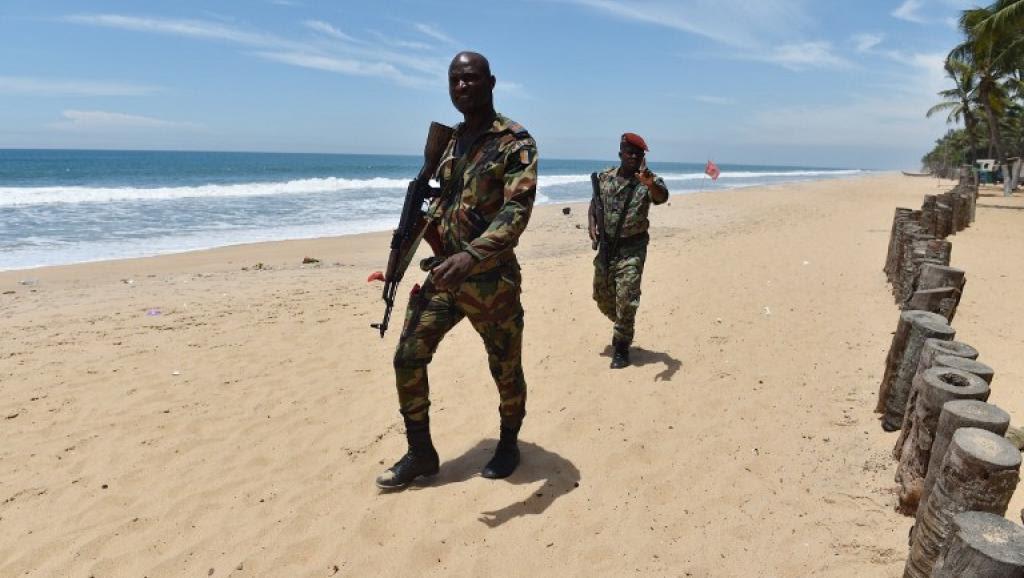 militaire ivoiriens (C) ISSOUF SANOGO AFP