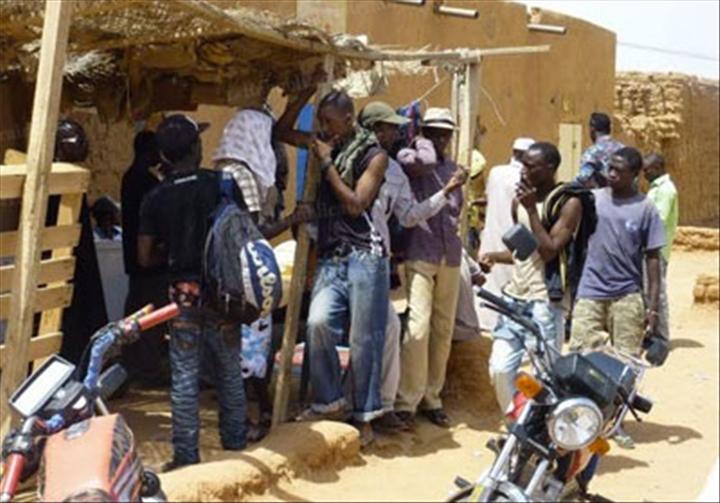 Migrants Agadez