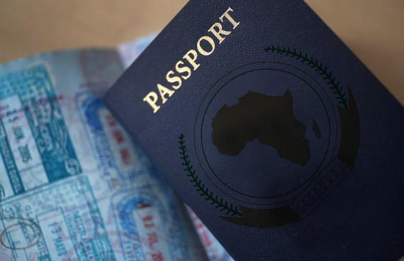 Passport Africa Afrique Niger