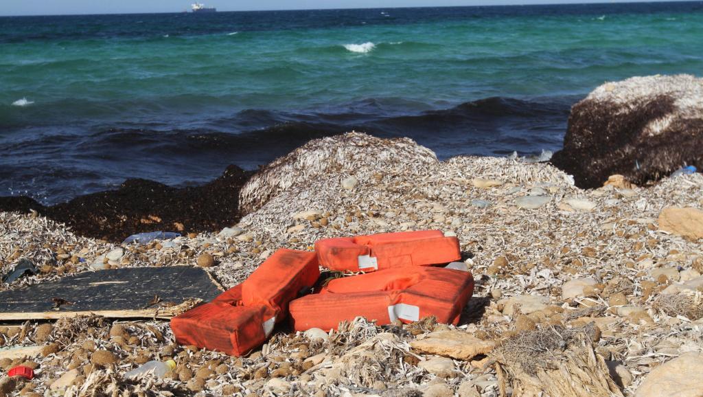 gilets sauvetage migrants noyes mediterranee libye 0