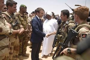 Macron et IBK