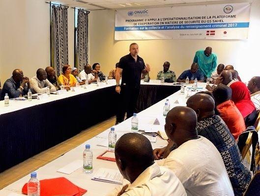 photo Bamako RC avec banderole