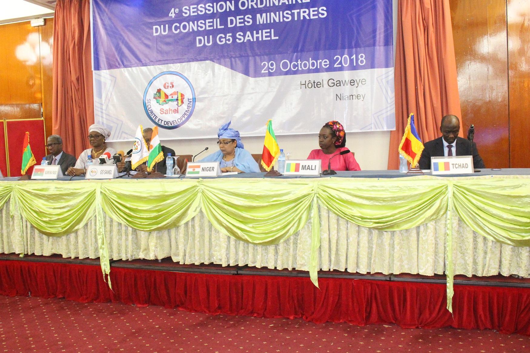 g5 conseil des ministres communique final